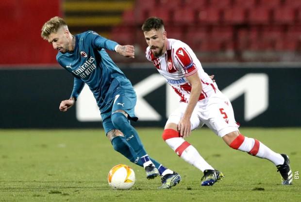 Liga Evrope: Zvezda u Milanu večeras u revanš utakmici od 21.00 sat (RTS 1)