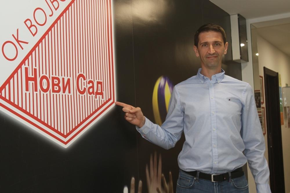 Slobodan Boškan novi trener odbojkaša Vojvodine