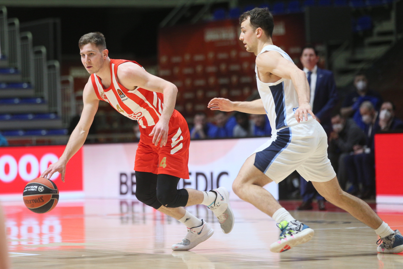 Evroliga: Košarkaši Crvene zvezde izgubili od Zenita u Beogradu (75:76)