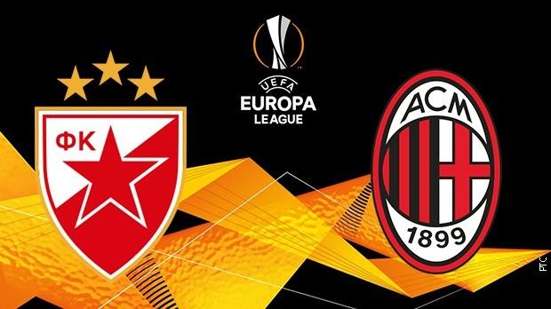 Liga Evrope: Crvena zvezda dočekuje Milan (18.55, RTS 1)