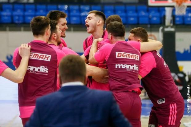 Košarkaši Mega Bemaksa u finalu Kupa Radivoja Koraća