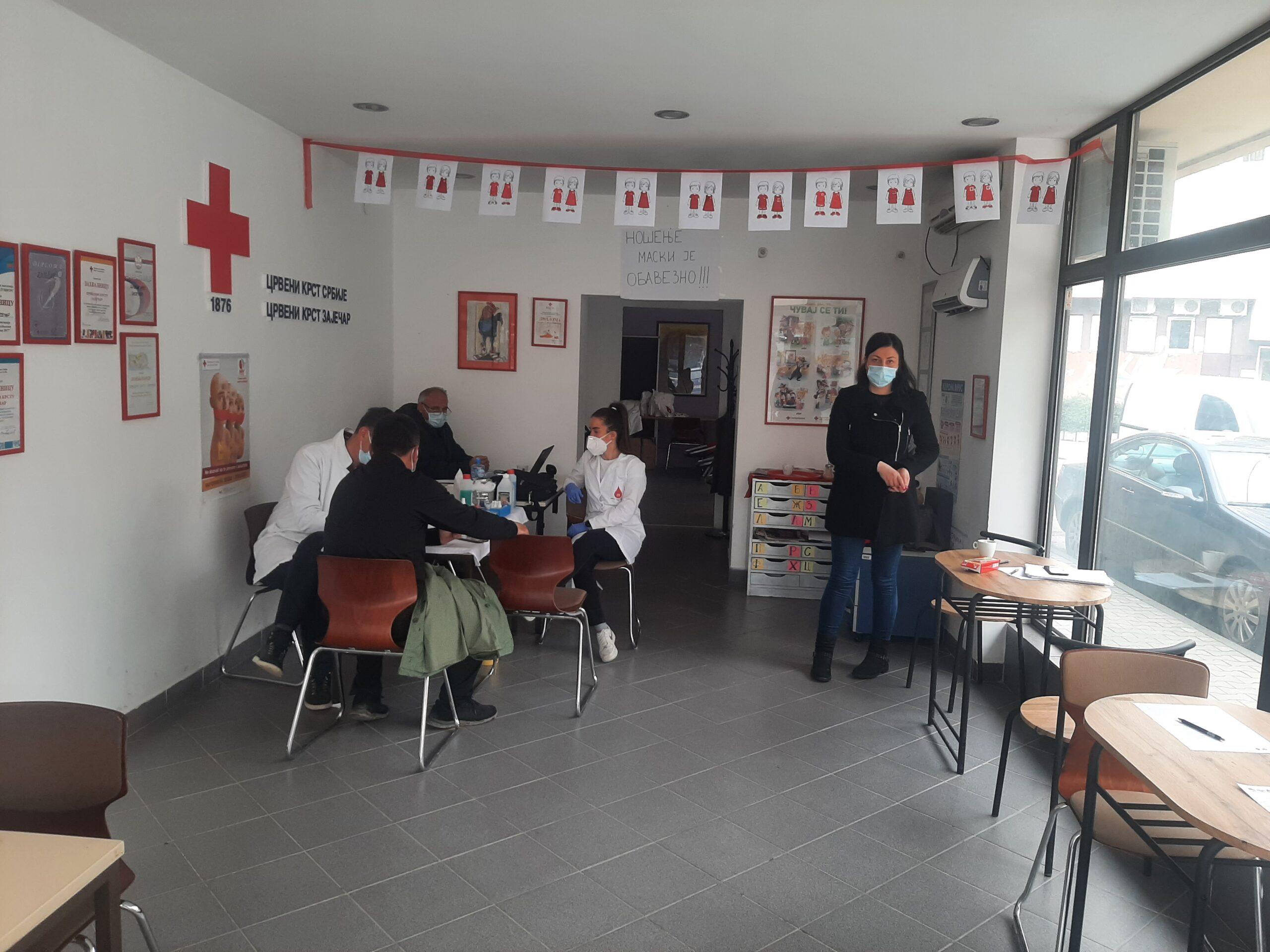 U današnjoj akciji prikupljene 24 jedinice krvi