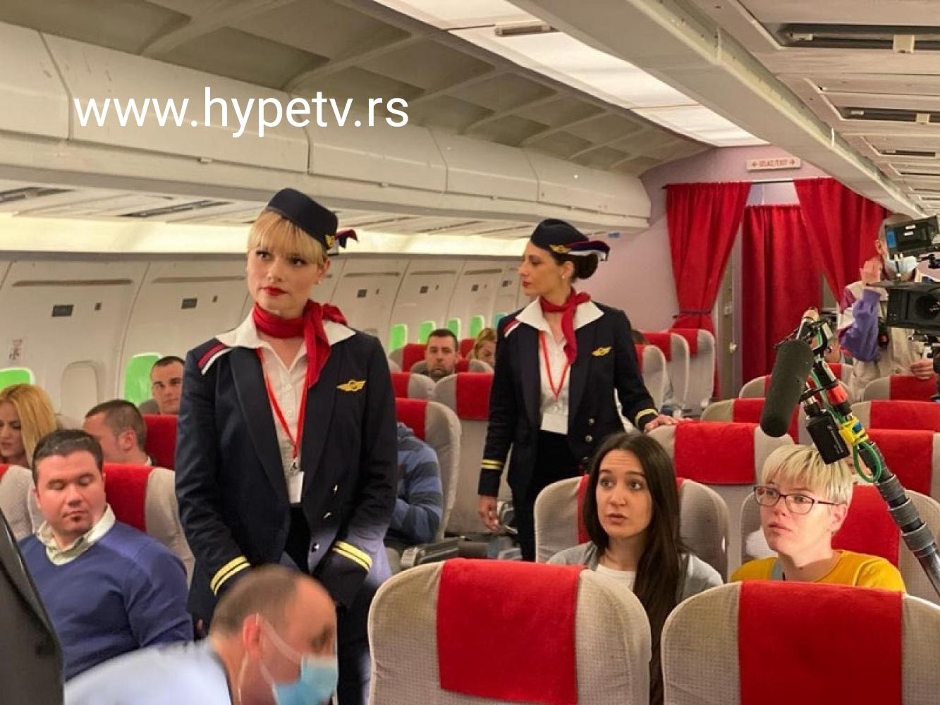 VEŽITE SE POLEĆEMO:Saša Mirković i Hype TV snimaju Aviondžije!