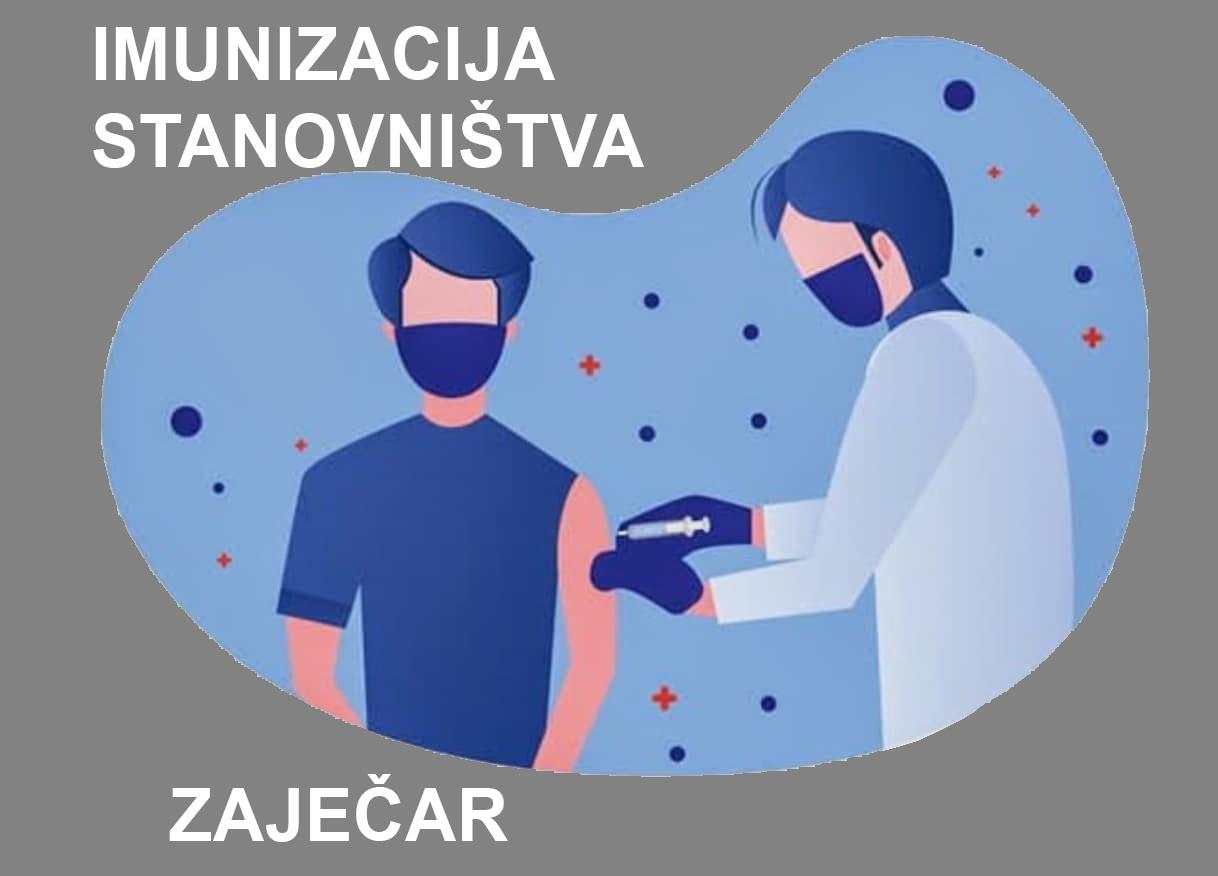 Imunizacija stanovništva bez prethodnog zakazivanja u Zaječaru