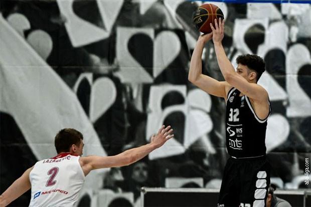 ABA liga: Partizan ubedljiv protiv FMP-a (97:74)