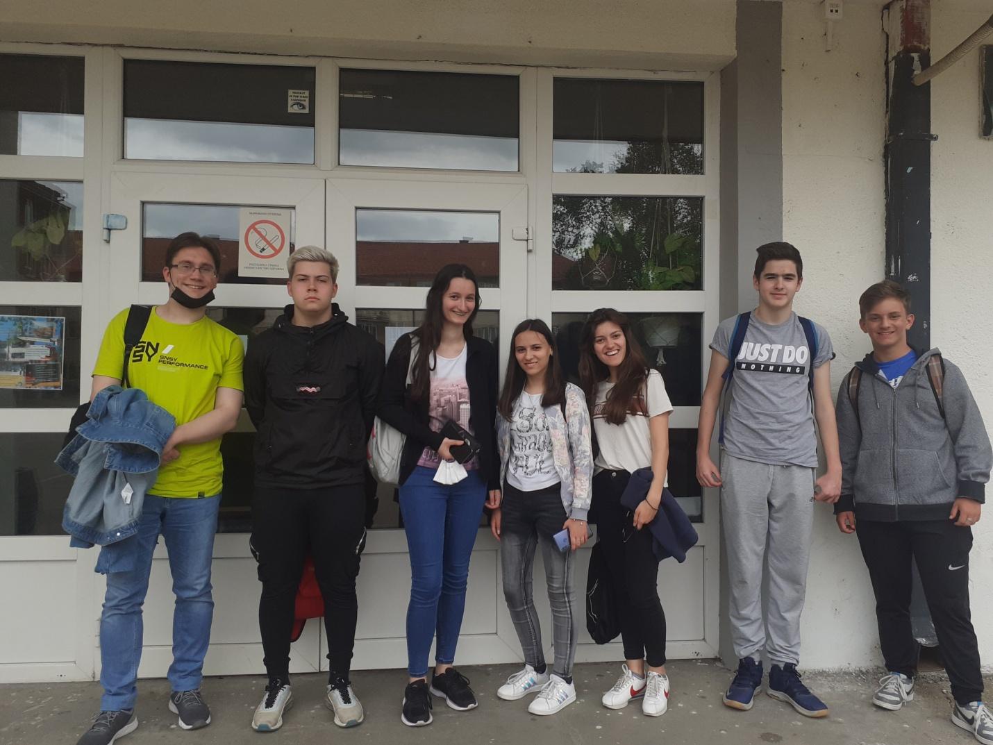 Natalija I Boris učenici Gimnazije plasirali se na republičko takmičenje iz istorije