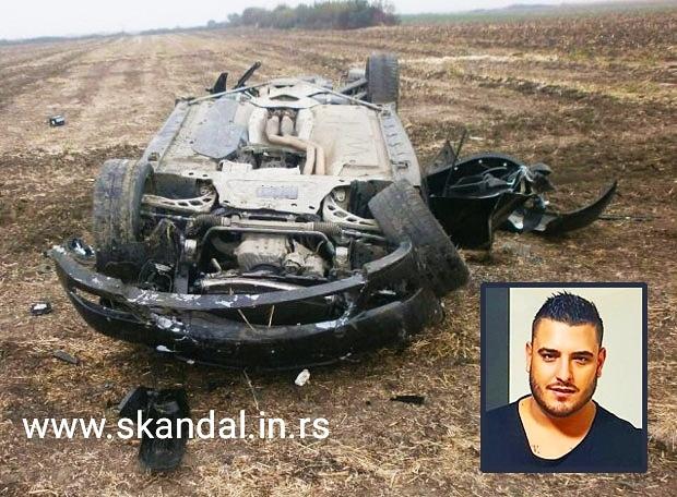 Darko Lazić opet doživeo saobraćajnu nesreću!
