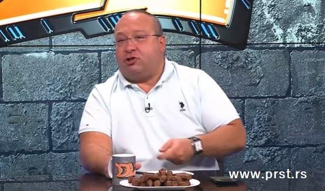 Vladimir Vuletić otkrio da su ćevapi od ljudskog mesa napravljeni od Zvezdinog navijača Goksija!