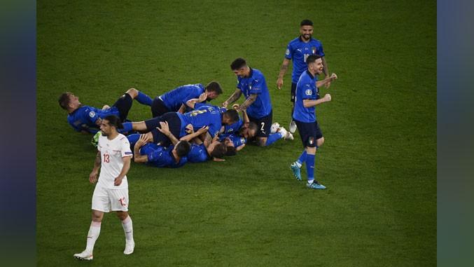 Italija u osmini finala Evropskog prvenstva!