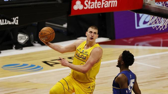 Nikola Jokić izabran u idealni tim NBA lige