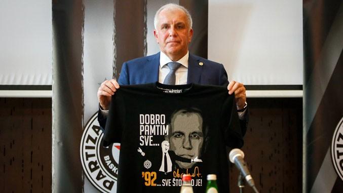 Obradović: Jedini klub u rangu Partizana je Real Madrid!