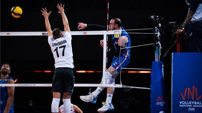 Pobeda odbojkaša Srbije protiv Nemačke u Ligi nacija