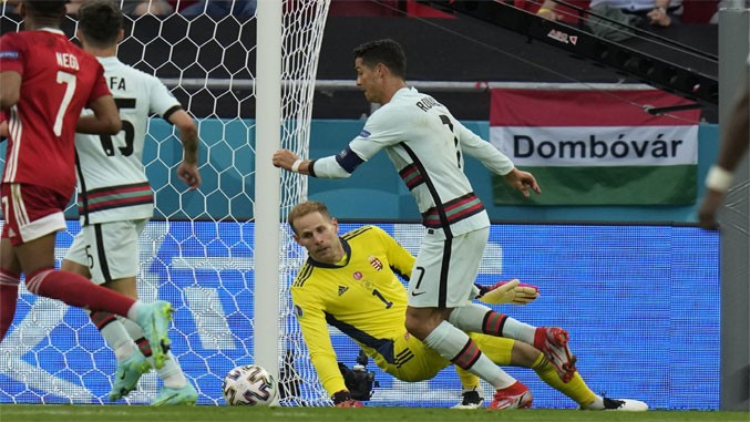 EURO 21: Portugalija pobedila Mađarsku, Ronaldo postavio novi rekord (3:0)