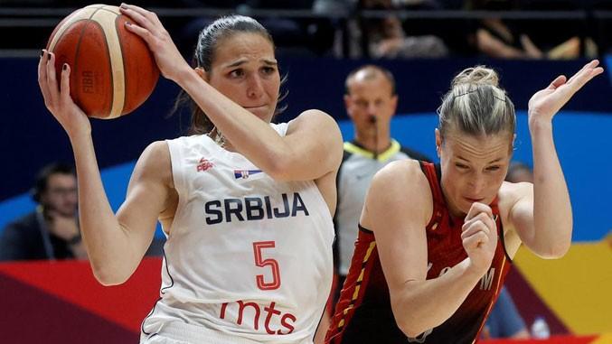 Reprezentacija Srbije u finalu Evropskog prvenstva u košarci