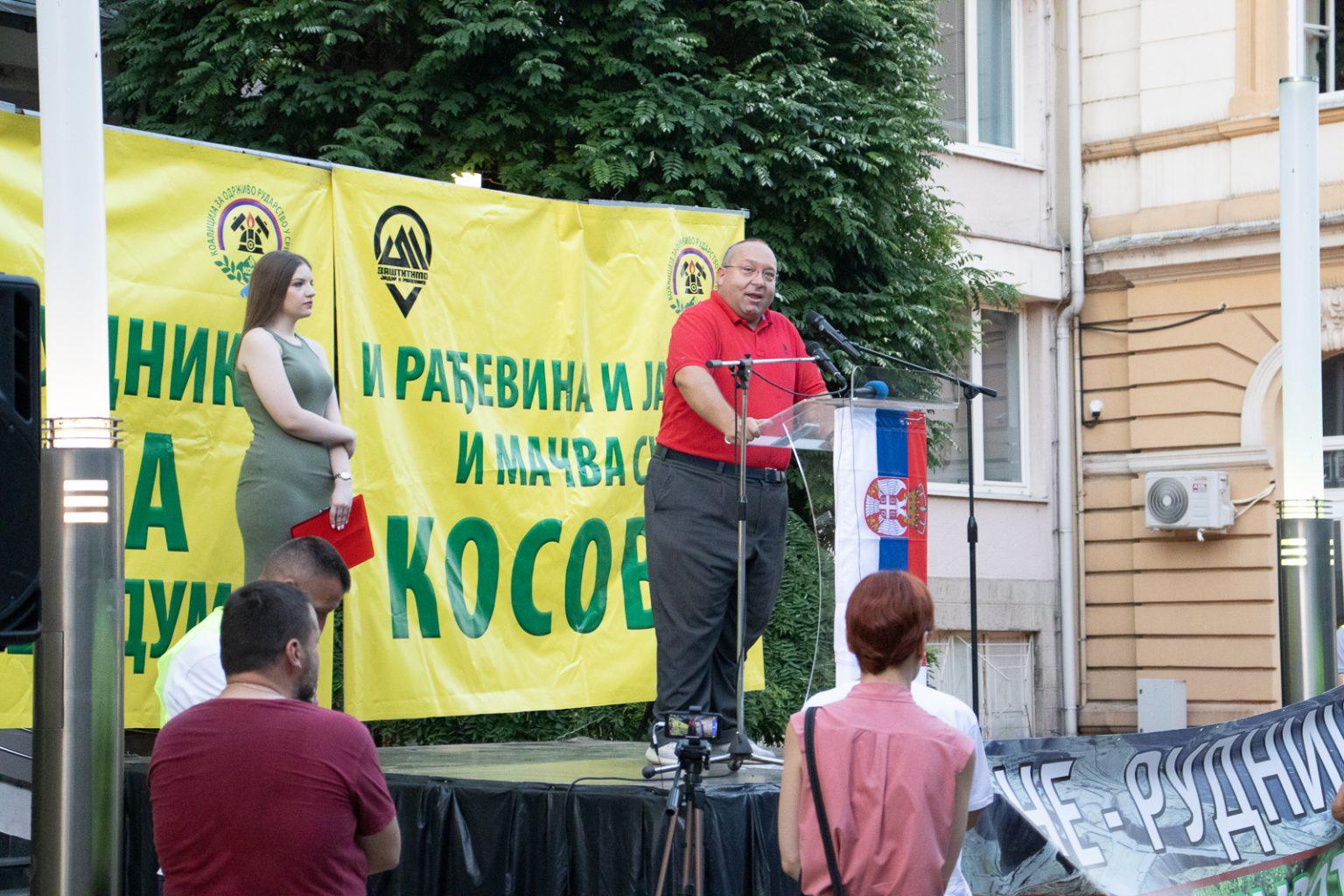 Šabac: Žute NVO i žute partije protestovale protiv kompanije Rio Tinto